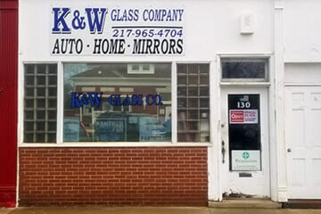 k&w glass company springfield illinois